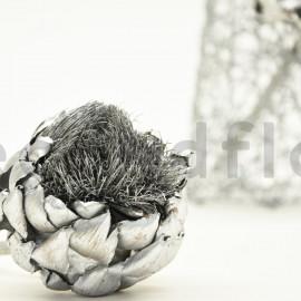 Artichaut teinté - Sachet de 2 - Argent