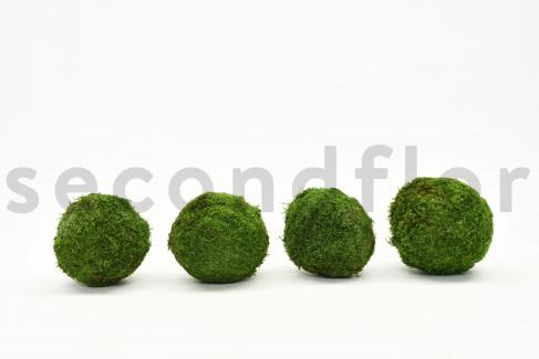 Boule de Mousse plate Stabilisée 8-10 cm - Sachet de 4