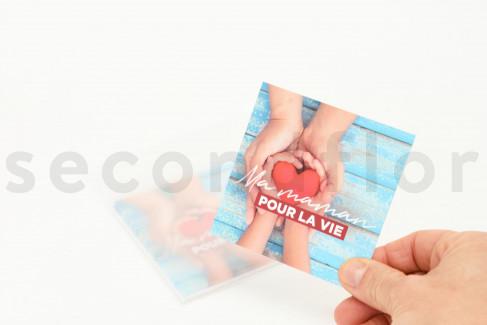 Message Card Ma Maman Pour La Vie 10 Units