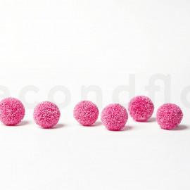 Chrysanthème Ping Pong Stabilisé M boîte de 6 - Rose