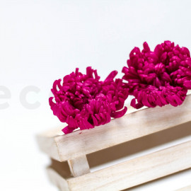 Chrysanthème Mille Feuilles Stabilisé M boîte de 6 - Rose