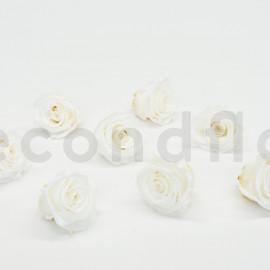 Rose stabilisée Kiara L - Boîte de 8 - Blanc pur