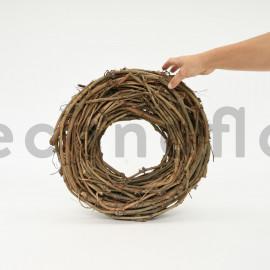 Couronne de vigne - 40x7 cm - Naturel
