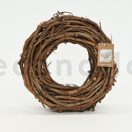 Couronne de vigne - 30x5 cm - Naturel